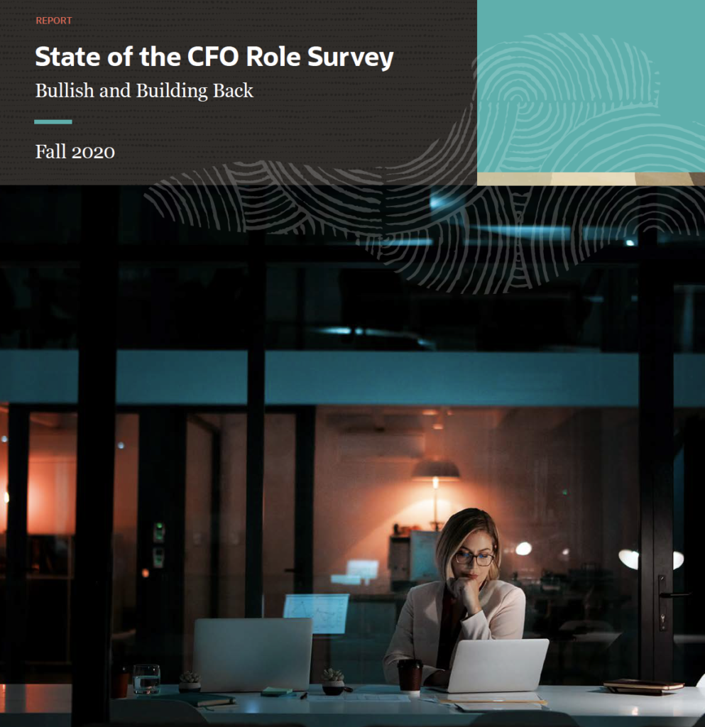 State of CFO Role Survey by NetSuite